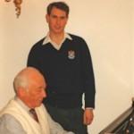 Prince Edward rehearses with Ezra at the Rachlin's home