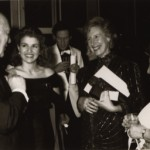 With Sir Alec Guinness and Anne-Sophie Mutter, June 24th, 1987