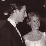Prince Charles with Ann at the first Beethoven Fund Concert at the Royal Festival Hall, March 6th, 1980
