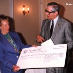 With Dennis Norden and another cheque! December 1st, 1993