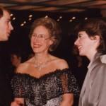 With HRH Prince Edward and Evelyn Glennie, December 1994